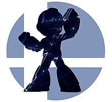 Sm4sh - Mega Man Photographic Print