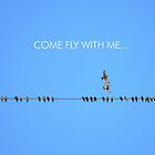 Come Fly With Me... by Laurie Minor