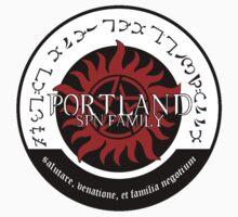Portland Supernatural Family Logo Kids Tee