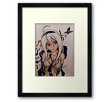 Yowane Haku Framed Print