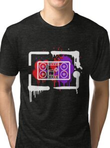 Master Blaster crimson edition Tri-blend T-Shirt