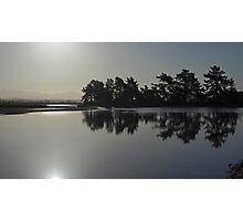 Shining silhouette Photographic Print