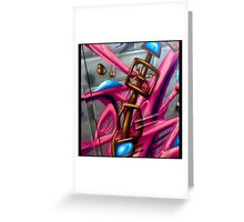 Robot Androids R4 Girls 2 Greeting Card