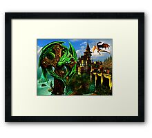 Dragon Heart Framed Print