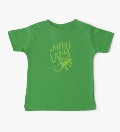 Reptile Lady Baby Tee