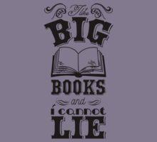 I like big books and i cannot lie Kids Tee