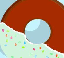 Half-Dipped Apple Spice Donut Sticker