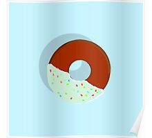 Half-Dipped Apple Spice Donut Poster