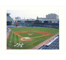 Old Yankee Stadium 1923-2008 Art Print