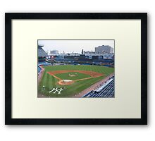 Old Yankee Stadium 1923-2008 Framed Print