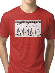 The Gifts To Penguins Tri-blend T-Shirt