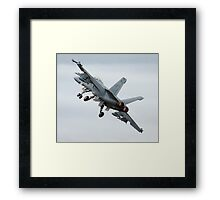 Super Hornet Framed Print
