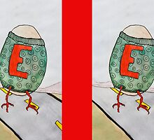 E is for Egg by Arpita Choudhury
