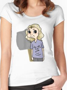 Look @ this meme Women's Fitted Scoop T-Shirt