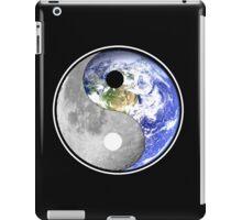 yin yang earth moon iPad Case/Skin