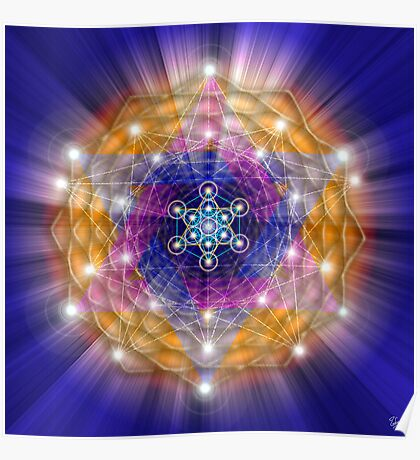 Sacred Geometry 23 Poster