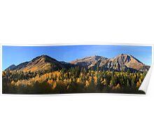 Fall Panorama Poster