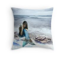 The World's A Beach Throw Pillow