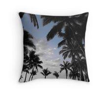 Fijian Silhouette Throw Pillow