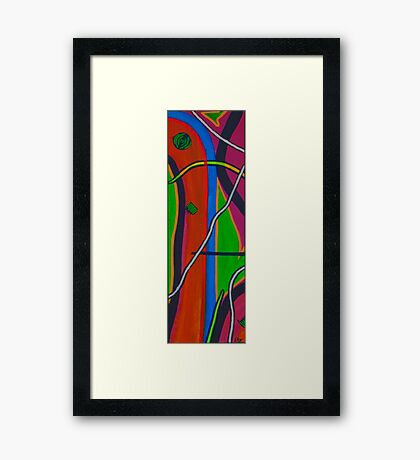 Puzzle Play I Framed Print
