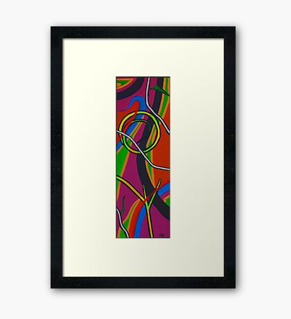Puzzle Play III Framed Print