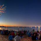 Australia Day Fireworks - Mornington, Victoria by Matt Haysom