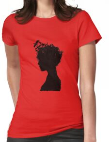 Obscure Woman - Birds Womens Fitted T-Shirt