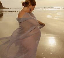Pregnant at the Beach by Denice Breaux
