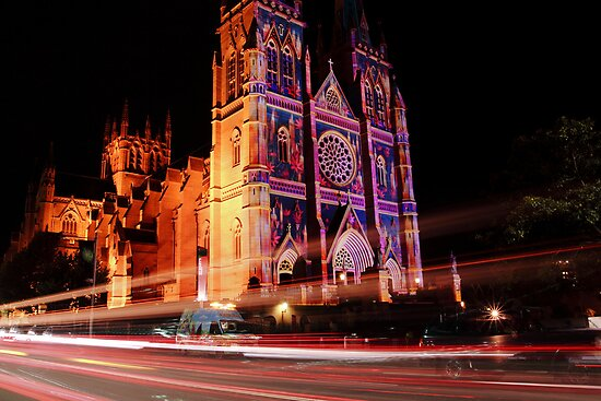 St Mary's Cathedral - Sydney by Leonardo Tarjadi