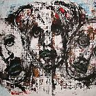 Faces, Bernard Lacoque-68 by ArtLacoque