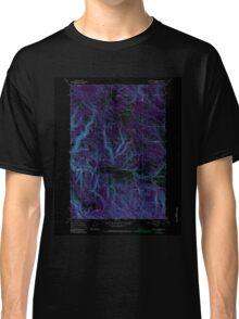 USGS Topo Map Oregon Lehman Springs 280502 1967 24000 Inverted Classic T-Shirt