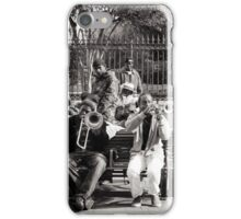 Big Band (New Orleans 2012) iPhone Case/Skin