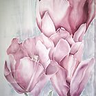Delicate-  an ode to tulips by Husna Rafath