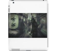 Arrow in Alleyway iPad Case/Skin