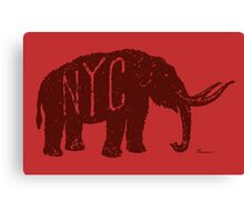 Mastodon NYC Canvas Print