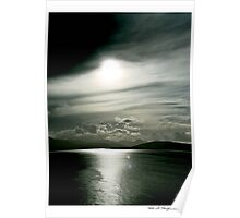 Isle of Skye cloudscape - Scotland Poster