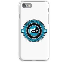 Mixed Martial Arts Competition Ready Kneebar Blue  iPhone Case/Skin