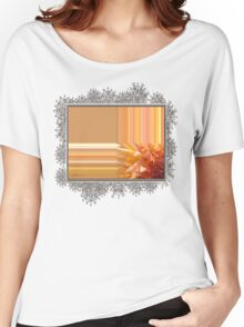 Intrepid Abstract Women's Relaxed Fit T-Shirt
