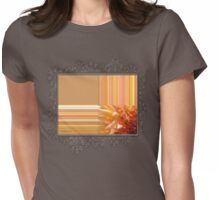 Intrepid Abstract Womens Fitted T-Shirt