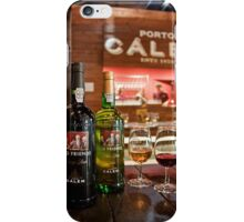 Portugal. Porto. Tasting Port Wine at the House of Calem. iPhone Case/Skin