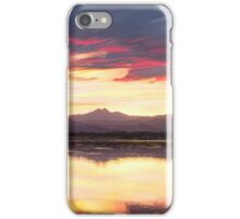 Colorful Colorado Rocky Mountain Sky Reflections iPhone Case/Skin