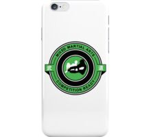 Mixed Martial Arts Competition Ready Kneebar Green  iPhone Case/Skin
