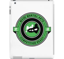 Mixed Martial Arts Competition Ready Kneebar Green  iPad Case/Skin