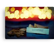 A Good Luck Fortune Canvas Print