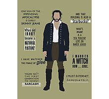 ICHABOD CRANE QUOTES Photographic Print