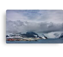 Lonely Work Canvas Print