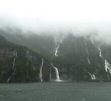 Milford Sound, New Zealand. by joycee