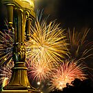 Australia day Fireworks by Keith Irving