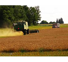 August Harvest Photographic Print