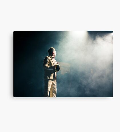 Comedian in action Canvas Print